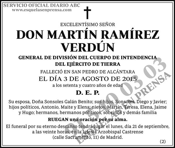Martín Ramírez Verdún
